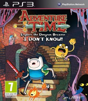 PS3: Adventure Time Explore the Dungeon