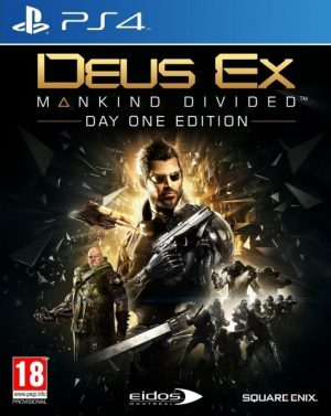 PS4: Deus Ex Mankind Divided Day One Edition