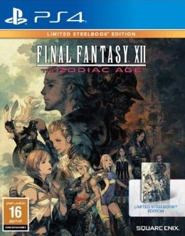 PS4: Final Fantasy XII The Xodiac Age Limited Steelbook Edition