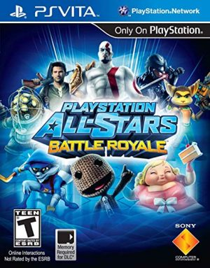 PSVITA: PlayStation All Stars Battle Royale
