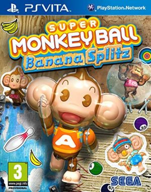 PSVITA: Super Monkey Ball Banana Splitz
