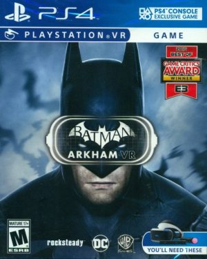 PSVR: Batman Arkham