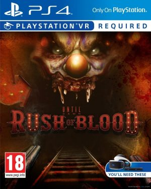 PSVR: Until Dawn Rush of Blood