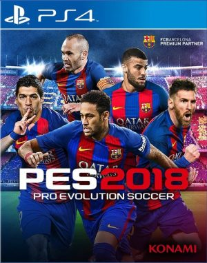 PS4: Pro Evolution Soccer 2018