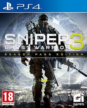 PS4: Sniper Elite Ghost Warrior 3 Season Pass Edition