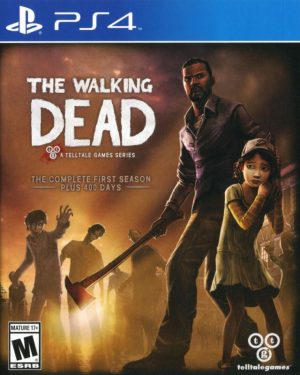 PS4: Walking Dead Complete First Season