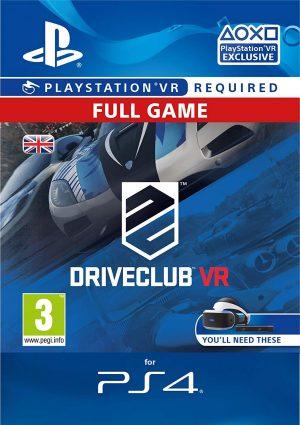 PSVR: Drive Club