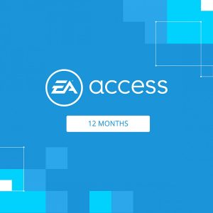 EA ACCESS PASS 12 MONTH MEMBERSHIP FOR PLAYSTATION 4