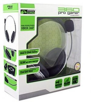 KMD Pro Gamer Headset for XBox 360