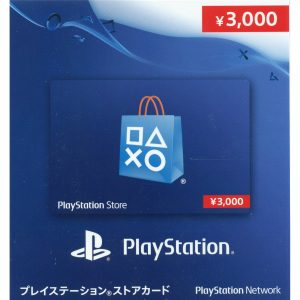 PSN CARD 3000 YEN | PLAYSTATION NETWORK (JP Account)