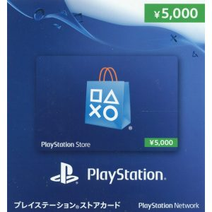 PSN CARD 5000 YEN | PLAYSTATION NETWORK (JP Account)