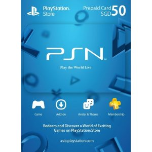 PSN CARD 50 SGD | PLAYSTATION NETWORK (SG Account)