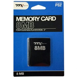 TTX Memory Card for PlayStation 2 (8MB)