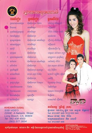 DVD Karaoke SR Vol 49 | ផលិតកម្មស្រីរត្ន័