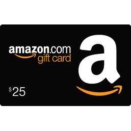 AMAZON GIFT CARD (US$ 25)
