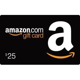 AMAZON GIFT CARD (US$ 25)