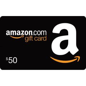 AMAZON GIFT CARD (US$ 50)