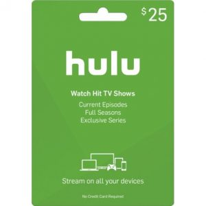 Hulu Gift Card (USD $25)