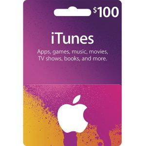 iTunes Card (USD 100 / for US accounts only)