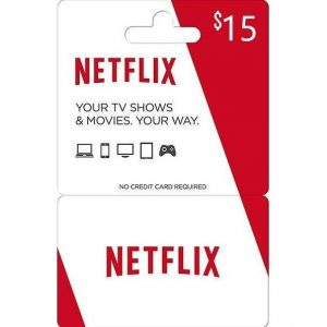 Netflix Gift Card 15 USD | US Account
