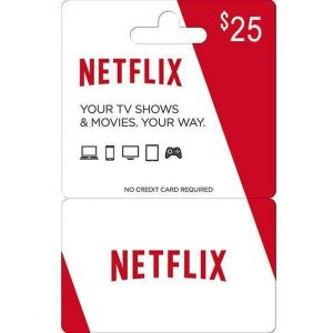 Netflix Gift Card 25 USD | US Account