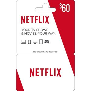 Netflix Gift Card 60 USD | US Account