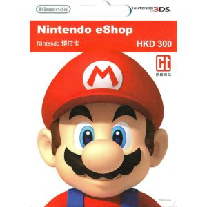Nintendo eShop Card 300 HKD | HK Account