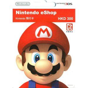 Nintendo eShop Card 300 HKD | HK Account