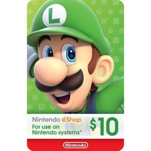 Nintendo eShop Card 10 USD | US Account