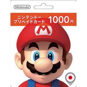 Nintendo eShop Card 1000 YEN | Japan Account