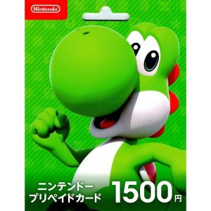 Nintendo eShop Card 1500 YEN | Japan Account