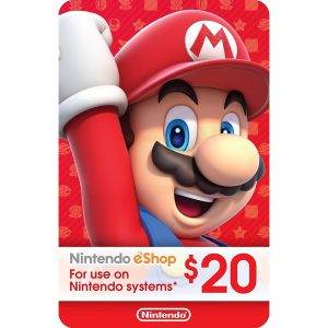 Nintendo eShop Card 20 USD | US Account