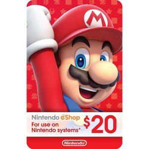 Nintendo eShop Card 20 USD | US Account