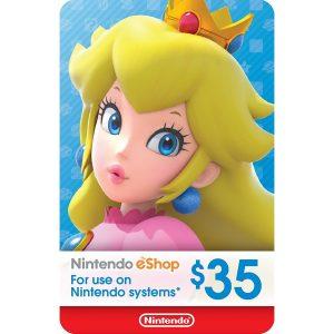 Nintendo eShop Card 35 USD | US Account