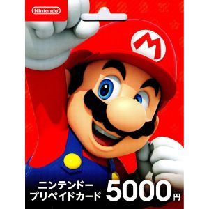 Nintendo eShop Card 5000 YEN | Japan Account