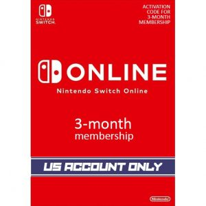 Nintendo Switch Online 3-Month Individual Membership | US Account