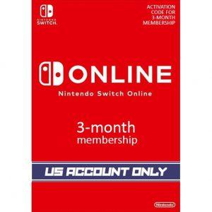 Nintendo Switch Online 3-Month Individual Membership | US Account