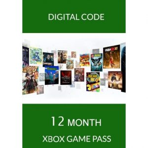 XBOX GAME PASS 12 MONTH for Console (Microsoft Accounts Only)