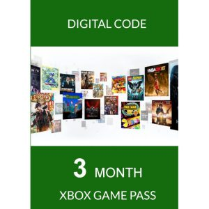 XBOX GAME PASS 3 MONTH for Console (Microsoft Accounts Only)