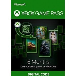 XBOX GAME PASS 6 MONTH for Console (Microsoft Accounts Only)