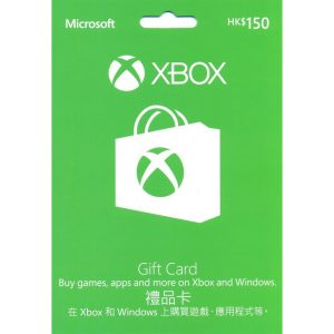 Xbox Gift Card HKD 150 (for HK Accounts)