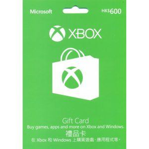 Xbox Gift Card HKD 600 (for HK Accounts)
