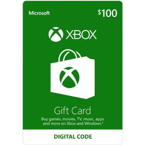Xbox Gift Card USD 100 (for US Accounts)