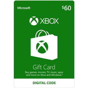 Xbox Gift Card USD 60 (for US Accounts)