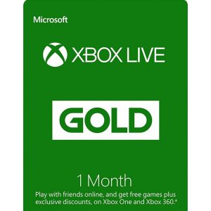XBOX LIVE GOLD 1 MONTH Membership GLOBAL