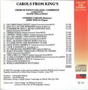 Carols from King's David Willcocks