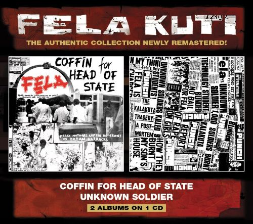 Fela - Coffin For Head Of State / Unknown Soldier track list