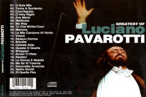 Luciano Pavarotti – Greatest of