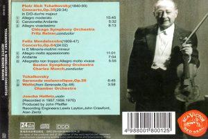 Jascha Heifetz – Beethoven/Brahms: Concertos