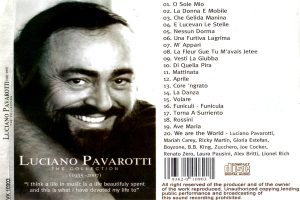 Luciano Pavarotti – The Collection (1935-2007)